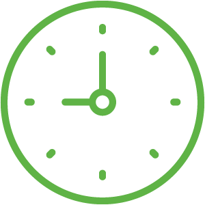 Image result for clock icon green